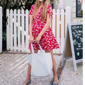 NWOT Express Floral Dress